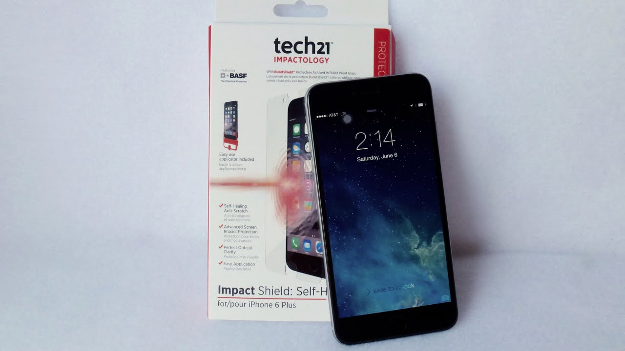 sports shoes b3dc9 34f57 Tech21 Impact Shield for iPhone 6 Plus: Installation and Review