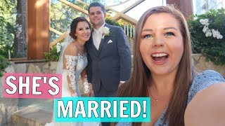 High School Sweethearts Get MARRIED! Wedding Day Vlog!