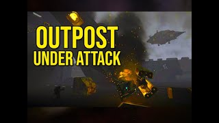 Players Search For Clues Outpost Under Attack - Space Engineers