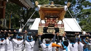 安房神社1300年祭:白浜下立松原神社の神輿入祭 H30aw06 thumbnail