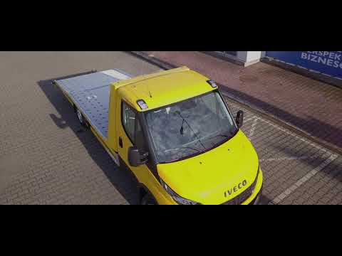 LAWETA Iveco Daily - autolaweta - pod pomoc drogowa