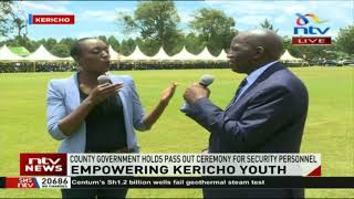 Kericho county holds pass out ceremony for security personnel