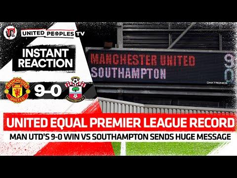 GOALS: Premier League RECORD | Man Utd 9-0 Southampton