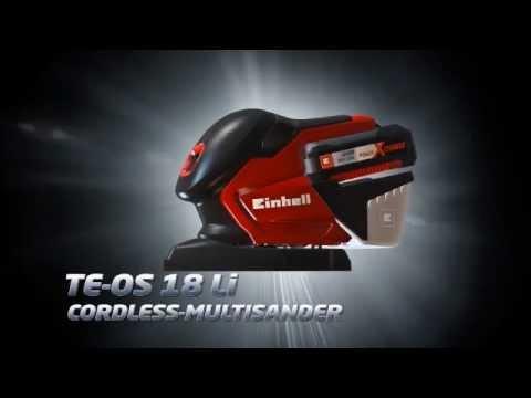TE-OS 18LI Power X-Change Cordless Sander