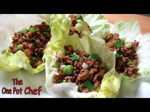 Easy Sang Choy Bow | One Pot Chef