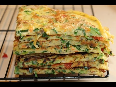 Vegetable Pancakes ( Simple,& Quick Meals)