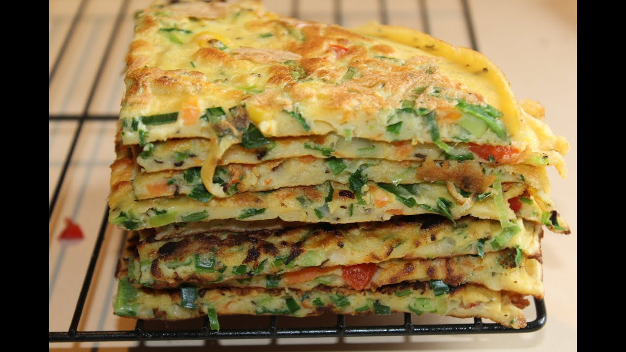 Vegetable Pancakes ( Simple,& Quick Meals) - YouTube