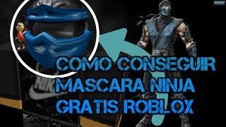 ROBLOX novo item gratis (Jay's Ninja Mask) mascara ninja