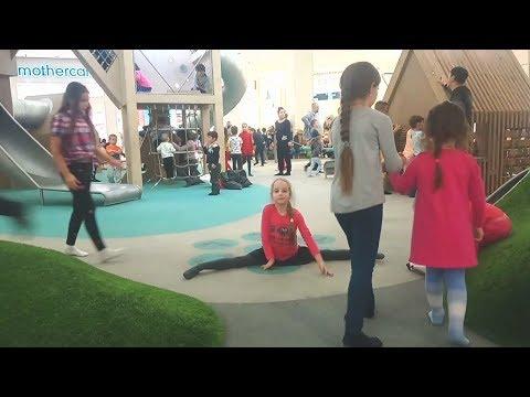 Детская площадка в Торговом центре МЕГА Химки. Развлечение для детей.