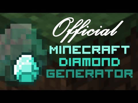 Minecraft Diamond Generator!!!
