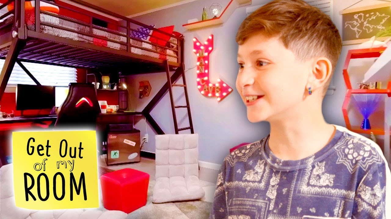 Download Teen Gets GAMING MAN CAVE Bedroom! 🎮👾  Get Out Of My Room   Universal Kids