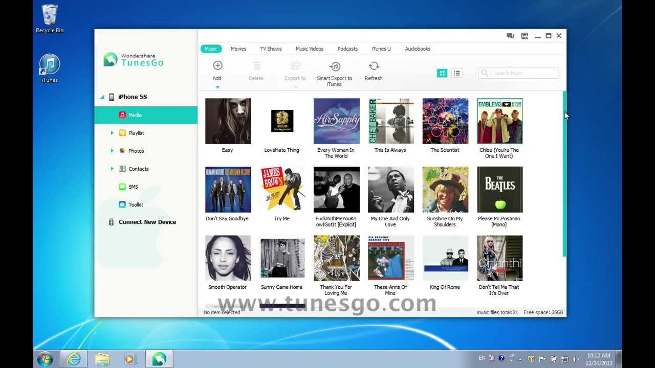 how to get music from pc to iphone