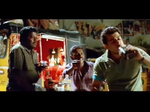 Ajithkumar Having Drinks  And Have Fun With Local Auto Rickshaw People | Cinema Junction HD