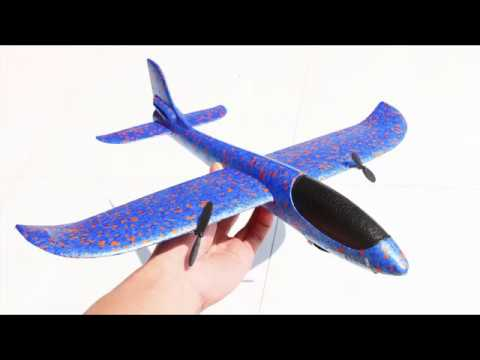 How To Make RC Airplane At Home - Very Simple