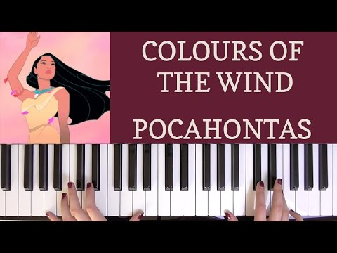 Colours Of The Wind Tutorial - Pocahontas