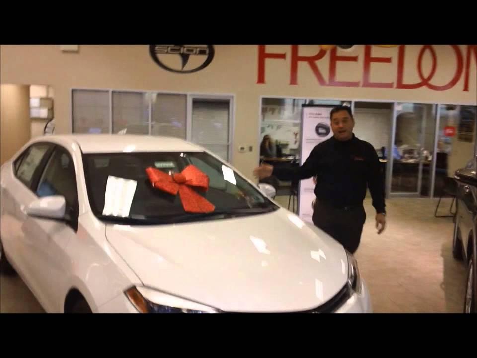 Noe Perales From Freedom Toyota Of Harrisburg 2014 Toyota Corolla Intro