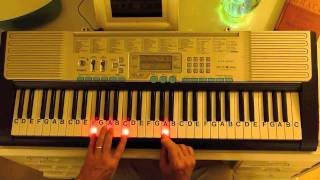 How to Play ~ Silent Night ~ Traditional Christmas Carol ~ LetterNotePlayer ©
