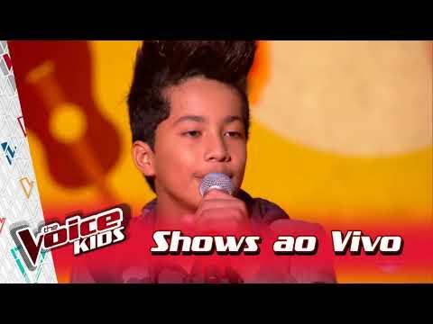 Augusto Michel canta 'Enamorado' nos Shows ao Vivo – 'The Voice Kids Brasil' | 3ª Temporada