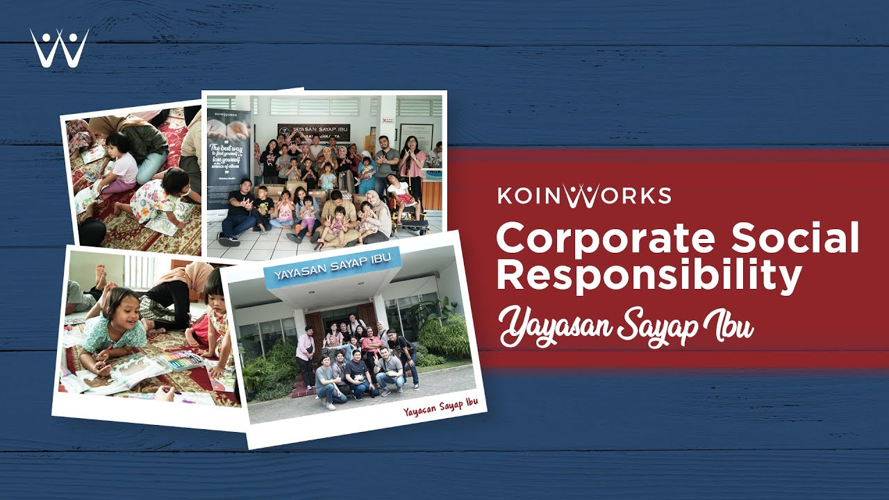 Suasana Yayasan Sayap Ibu Jakarta Selatan | KOINWORKS CSR PROGRAM