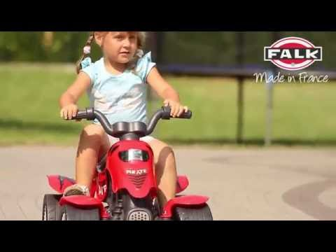 MOTO X RACER (RED), Foot to floor race bike, Age class from 1 to 3 years old. Made in France