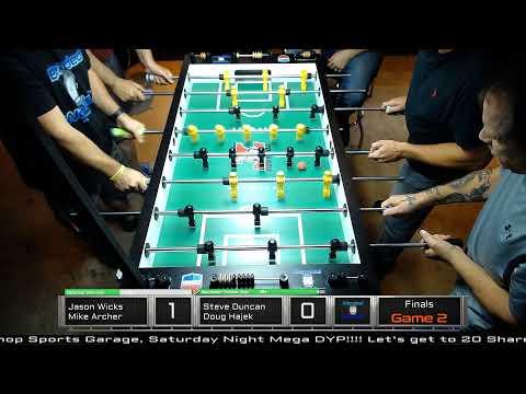 Saturday Night Foosball Tournament