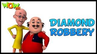 Motu Patlu In Hindi | Kids Cartoons | Motu Patlu Ki Jodi | Diamond Robbery |Animated Series|Wow Kidz