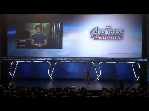 Aisha Tyler at Ubisoft's E3 2012 Conference
