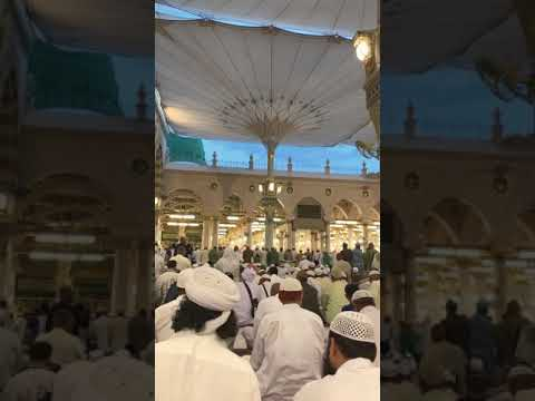 azan Masjid e nabvi Madina Sharif 30 October 2018