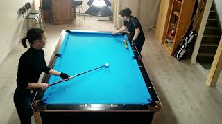 Pool lessons - Poтting Ghost 6.5 & 6.10