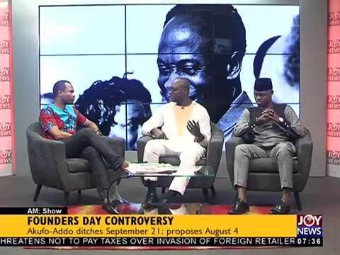 Founders' Day - AM Talk on JoyNews (21-9-17)