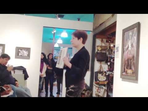 Laurie Lipton FULL Artist Discussion at La Luz de Jesus Gallery, 11/23/13