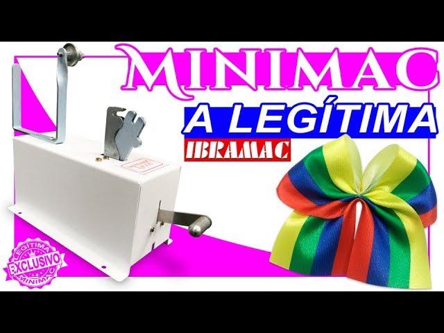 Máquina de Laço ♥ Laço de Cetim ♥ Minimac ♥ DIY ♥ Pap ♥ Tutorial ♥ Ibramac