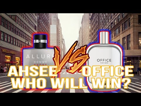 OFFICE For Men VS Chanel ALLURE Sport Eau EXTREME! | STREET REACTIONS!