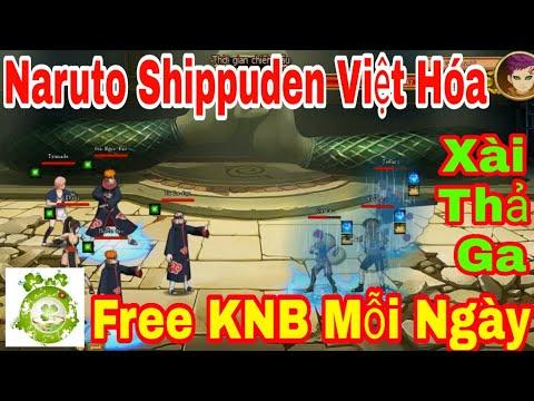 Web Game Private Naruto Shippuden Việt Hóa | Free 50.000KNB + 10.000KNB Mỗi Ngày Xài Thả Ga