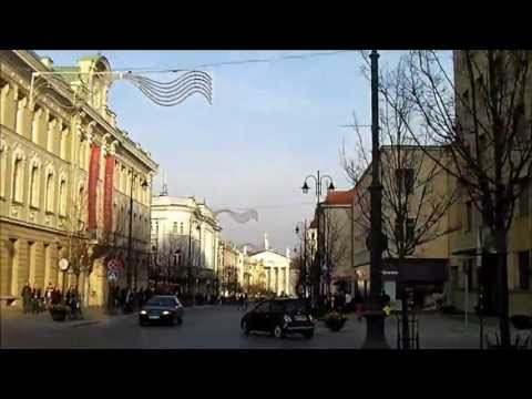 VILNIUS - LITHUANIA - City Stroll - Part Three