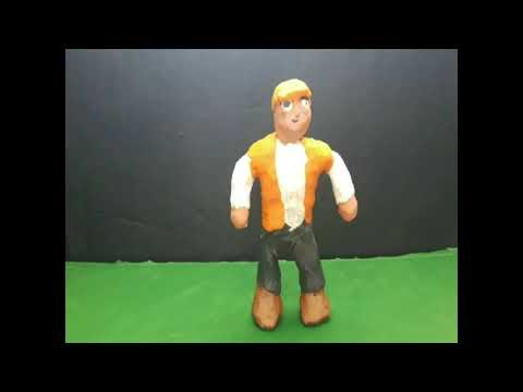 Construction Worker Death (Very Gory  Clay Animation)