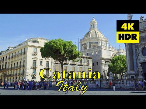 Catania, Italy in 4K (UHD) HDR / Катания, Италия / Catania, Italia