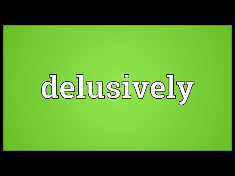 Header of delusively