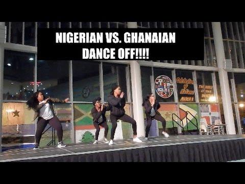 NIGERIAN VS. GHANAIAN DANCE OFF!!!