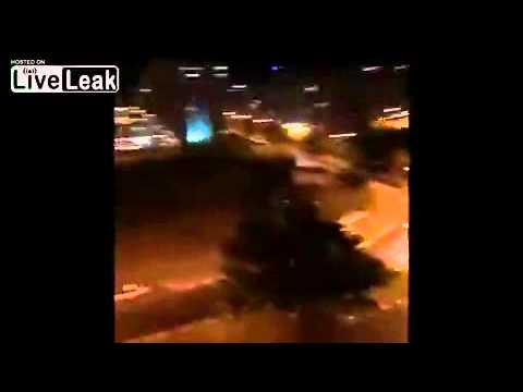Iron dome intercepts volleys of hamas rockets all over Israel 29 7 2014