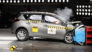 Toyota Auris Crash Test Euro NCAP