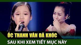 Ốc Thanh Vân rơi nước mắt khi giọng hát nhí Cẩm Linh