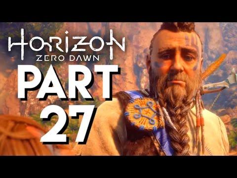 Horizon Zero Dawn Walkthrough PART 27 ROST'S PAST - THE FINAL GRAVE VISIT
