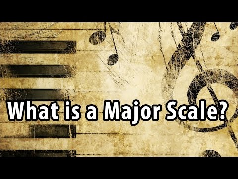 What is a Major Scale? Music Theory Lessons