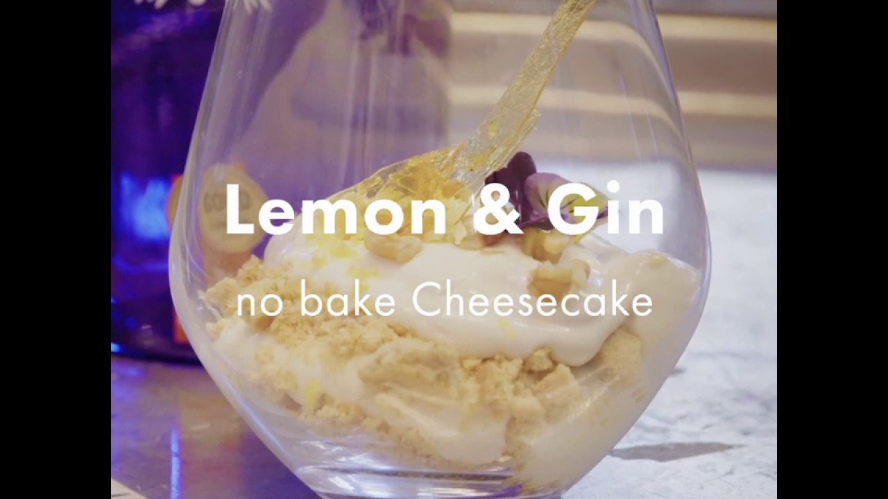 Recipe: No-Bake Lemon & Gin Cheesecake