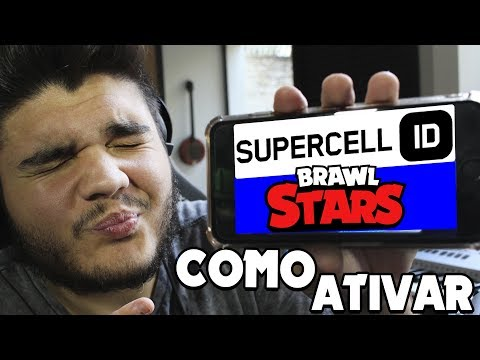 COMO ATIVAR O SUPERCELL ID NO BRAWL STARS!!  ANDROID e IPHONE