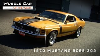 Muscle Car Of The Week Video Episode #84:  Ford Mustang BOSS 302 Video