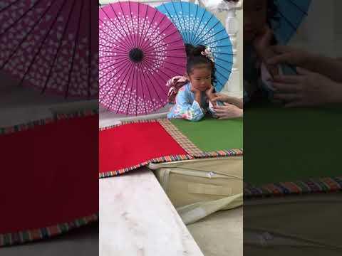七五三♪撮影★和装傘★