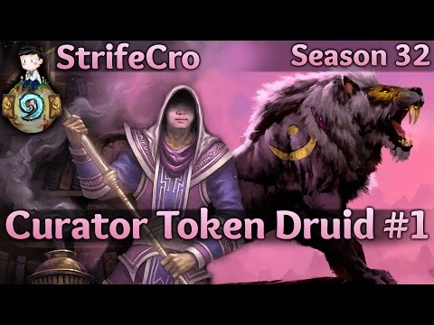 Hearthstone Curator Token Druid S32 #2: Playing Around Everything