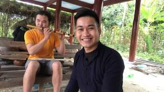 Hot boy Chu Thạch Oficeial thổi sáo Hmong cực đỉnh :Xuân về trên bản Hmong -Xuân Hữu Đàn Tính